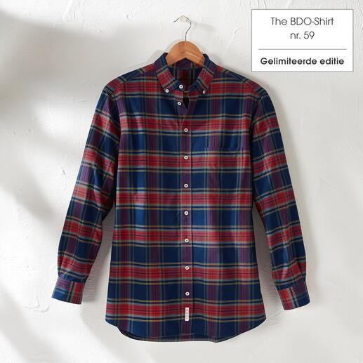 The BDO-shirt, Limited Edition No.59, Regular Fit Ontdek een goede oude vriend. En vergeet dat een overhemd moet worden gestreken.
