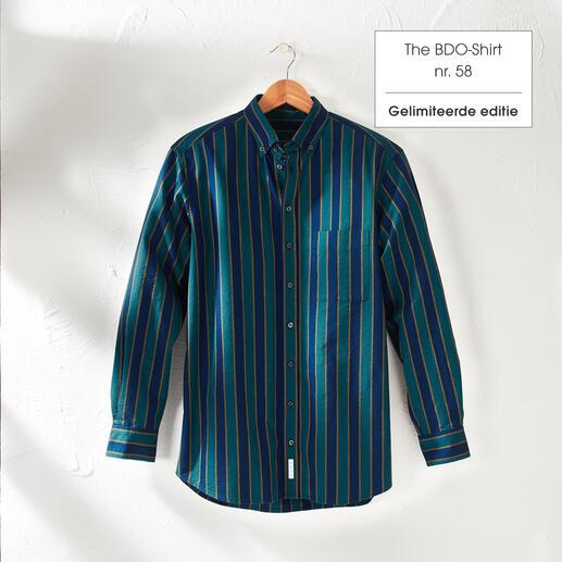 The BDO-shirt, Limited Edition No. 58, Regular Fit Ontdek een goede oude vriend. En vergeet dat een overhemd moet worden gestreken.