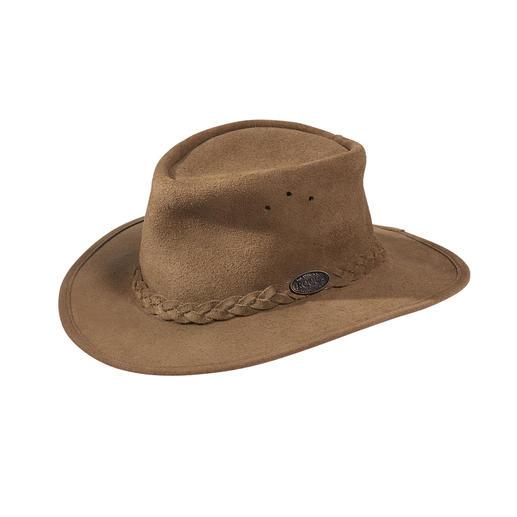 Rogue suède bush hat Oorspronkelijk Zuid-Afrikaans: de klassieke bush hat voor dames en heren.