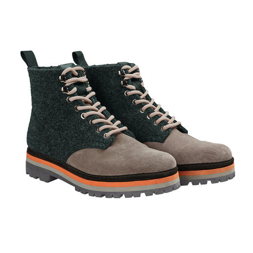 Pànchic hiking boots Trendy robuust – maar verrassend licht en functioneel. Hiking boots van Pànchic, Italië.