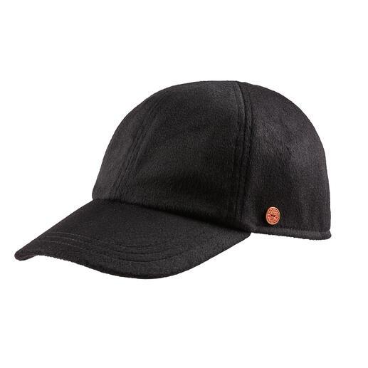 Mayser cap van kasjmier Van heerlijk zacht, licht kasjmier: zo luxueus kan een baseballcap zijn.