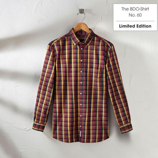 The BDO-shirt, Limited Edition No. 60, Regular Fit Ontdek een goede oude vriend. En vergeet dat een overhemd moet worden gestreken.
