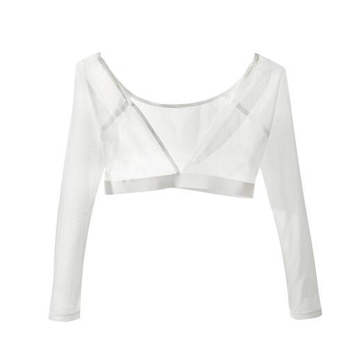 Swing ondershirt De perfecte partner voor mouwloze jurken en topjes. Houdt warm en bedekt, zonder te verhullen.