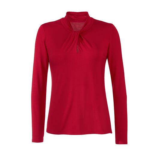 Tencel™ Essential-shirt Deze Essential-shirts van exclusieve Tencel™-jersey zijn zijdezacht en zijn veel eleganter.