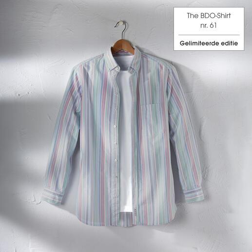 The BDO-Shirt, Limited Edition No. 61 Ontdek een goede oude vriend. En vergeet dat een overhemd moet worden gestreken.