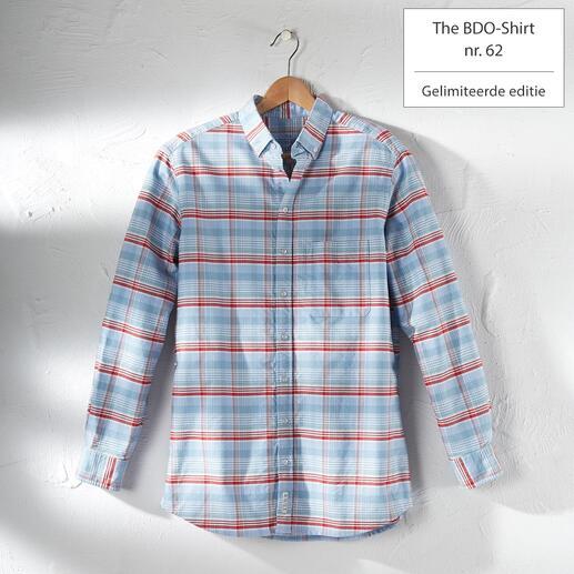 The BDO-shirt, Limited Edition No. 62 Ontdek een goede oude vriend. En vergeet dat een overhemd moet worden gestreken.