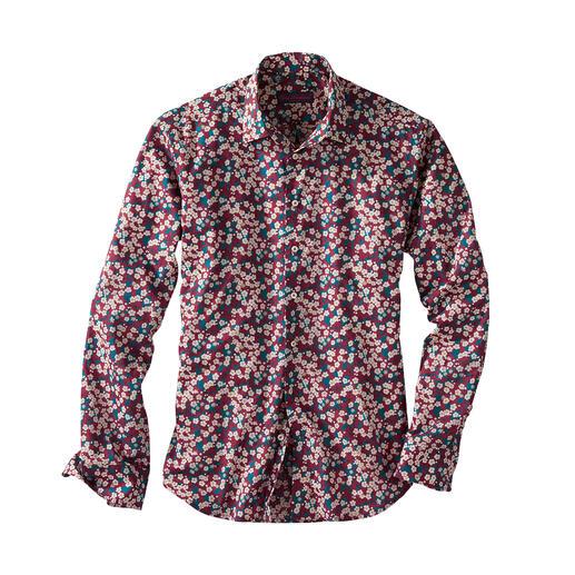 """Liberty™ Tana Lawn-overhemd """"Mitsi"""" Het gebloemde herenoverhemd: bij alle anderen in de mode."""