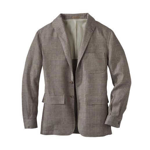 Teba-jasje van linnen Zomers licht Teba-jasje van Iers linnen: stijlvol als een colbert. Casual als een jack.
