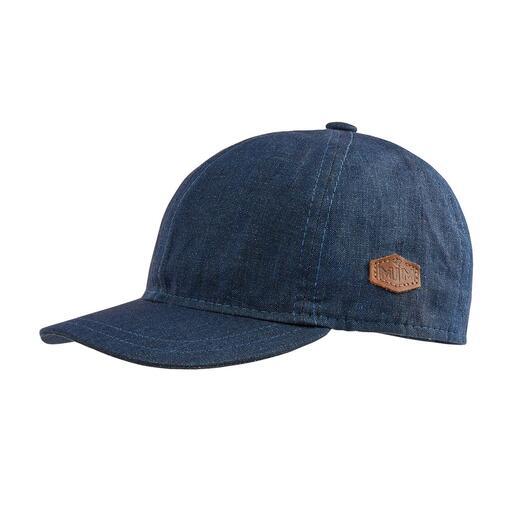 MJM linnen baseballpet Ongevoerd en gemaakt van puur linnen: lichte baseballpet waarmee u altijd uw hoofd koel houdt.