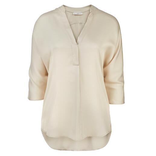 Neu Nomads cropped palazzo pants of tuniekblouse Van zijdezacht Tencel™-satijn – duurzaam vervaardigd. Voor een eerlijke prijs.