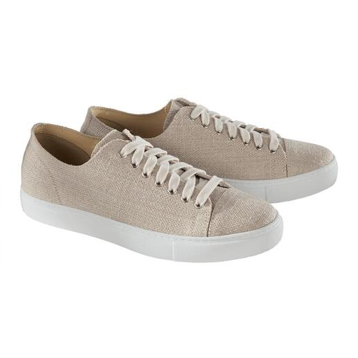 Risorse Future sneakers van hennep Luchtig als linnen, maar veel steviger. En desondanks zacht en comfortabel.
