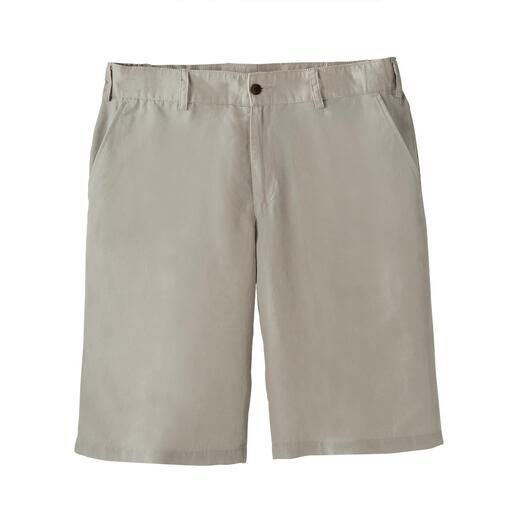 Short van Tencel™ en linnen Linnen + Tencel™ + katoen = luchtiger, zachter en cooler.
