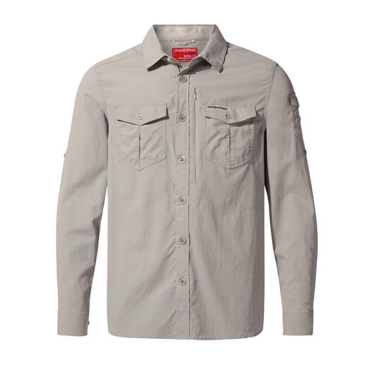 Craghoppers anti-insecten kleren Tevens voorzien van uv-bescherming 40+. Van Craghoppers/VK, outdoorspecialist sinds 1965.