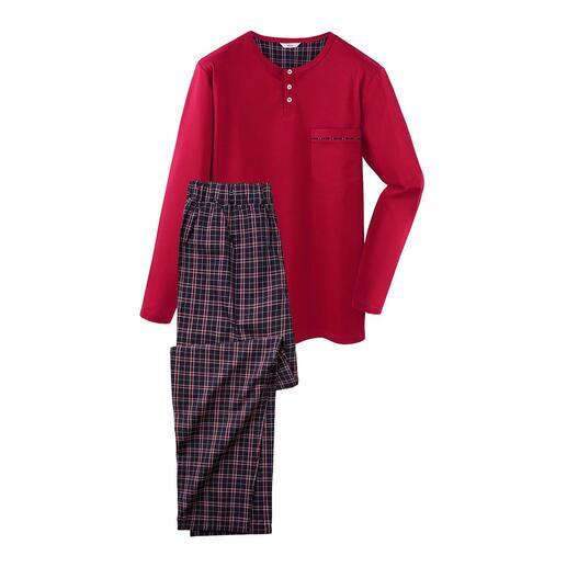Gentleman-pyjama De perfecte pyjama voor gentlemen: comfortabel, luchtig, chic.