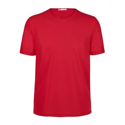 SunSelect® shirt met V-hals voor dames of ronde hals voor heren Dit SunSelect®-shirt laat de bruinende UVA-stralen door en filtert daarbij de schadelijke UVB-stralen.