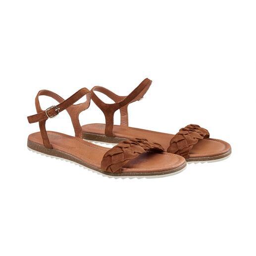 Apple of Eden gevlochten sandalen Heerlijk comfortabel en licht. Modieus in vijf opzichten en aantrekkelijk geprijsd.