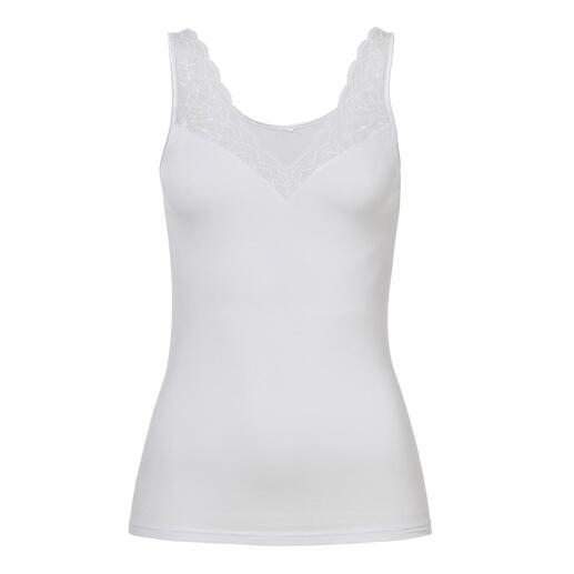 Speidel hemd van micromodal Het lichte hemd van micromodal: elegant, vrouwelijk en onvergelijkbaar zacht.