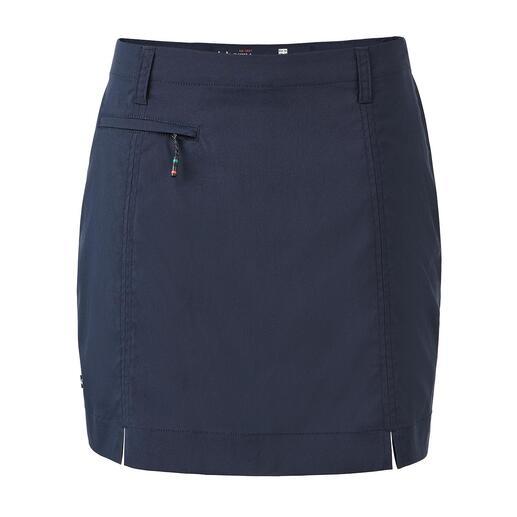 Dubarry functionele skort Skort: vanbuiten een skirt, vanbinnen een short. De geniale functionele rok van Dubarry.