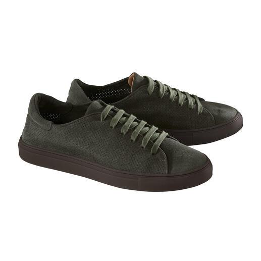 Casanova leren sneakers met perforatie Met stevig doorgestikte loopzool. Made in Italy, van Casanova, hoogwaardige schoenen sinds 1949.