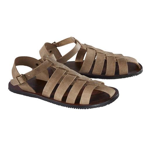 Romeinse sandalen 2.0 Zoutwaterbestendig kalfsleer. Antislipzool. Traditioneel met de hand gemaakt in Italië.