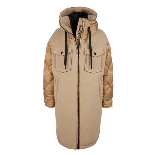 Goldbergh sportieve coutureparka Sportieve streetwear of trendy sportswear? Beide!