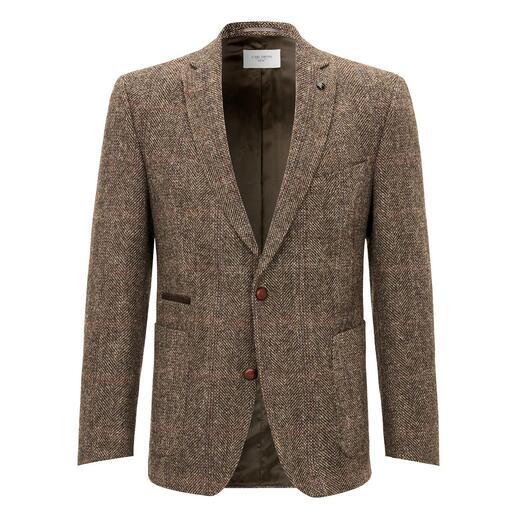 Carl Gross Harris Tweed-colbert Originele Harris Tweed van de Buiten-Hebriden – maar veel fijner en lichter dan normaal.
