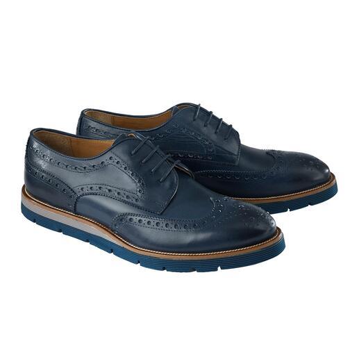 Schoenen met perforatie 2.0 Mode-update voor de schoenen met perforatie: zacht kalfsleer, lichte EVA-zool, modieuze kleuren.