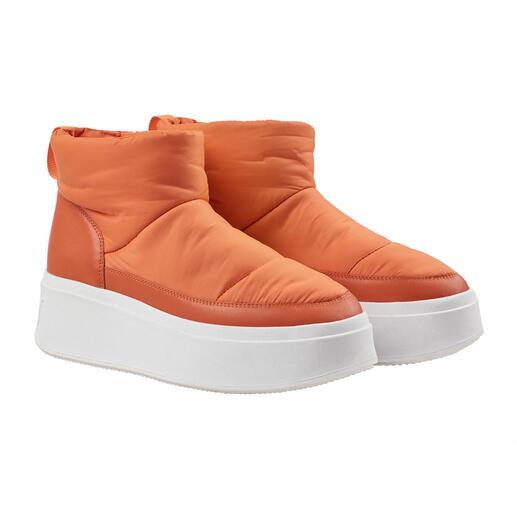 Ash puff boots Trendy hoge, isolerende en ultralichte plateauzool. Waterafstotend nylon. Warme wattering.