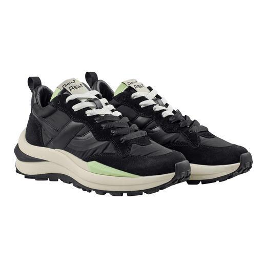 Ash meshsneakers, zwart De stijlvolle en casual variant onder de trendy running-sneakers. Meshsneakers van Ash.