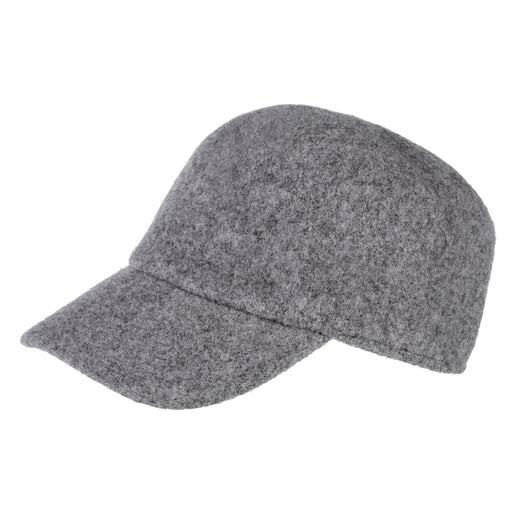Cap van walkstof Zeer moeilijk te vinden: baseballcap voor het koude jaargetijde van warm walkvilt.
