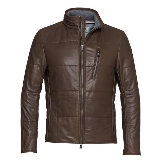 Heinz Bauer lamsnappa jas Het waarschijnlijk dunste lamsnappa ter wereld maakt deze jas zo onvergelijkbaar licht en zacht.