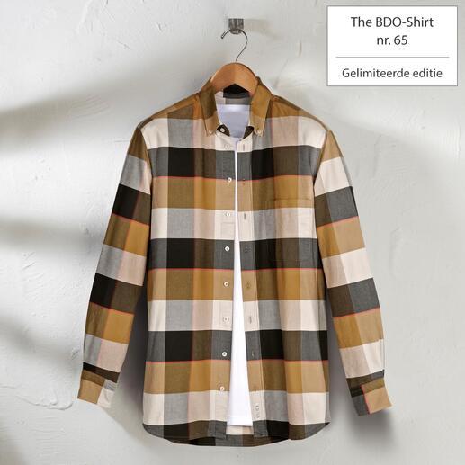 The BDO-shirt, Limited Edition No.65 Ontdek een goede oude vriend. En vergeet dat een overhemd moet worden gestreken.