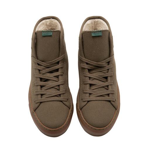 Wintersneakers van canvas Duurzaam gemaakt van gerecyclede vezels. En weer recyclebaar. Voor dames en heren.