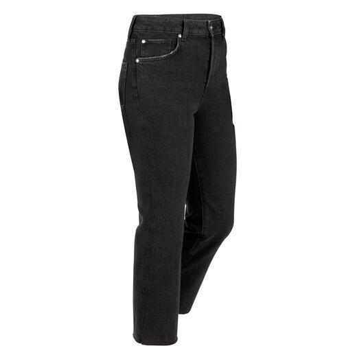 Liu Jo bottom up cropped jeans Het beproefde Liu-Jo-lifteffect – voor het eerst gemaakt van ecologisch duurzaam denim.