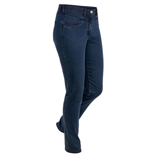 Slanke thermo-jeans Met Thermolite® hebt u het nooit koud. En het houdt uw huid steeds aangenaam droog.
