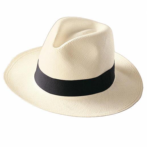 Met de hand gevlochten in Ecuador. De echte Panama-hoed. Met de hand gevlochten in Ecuador.