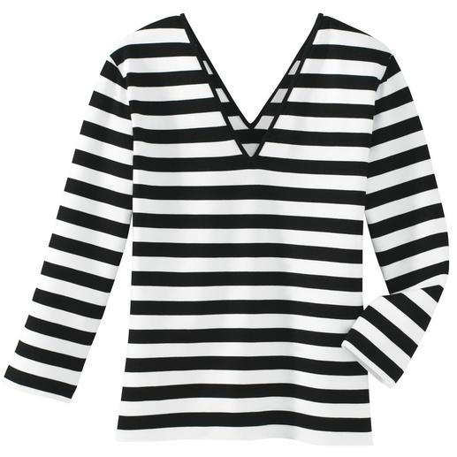 Betoverend shirt Alleen het juiste in zwart en wit.