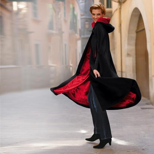 Kinsale-cape De traditierijke Kinsale Cloak uit Ierland: de comfortabele en buitengewone bescherming tegen kou.