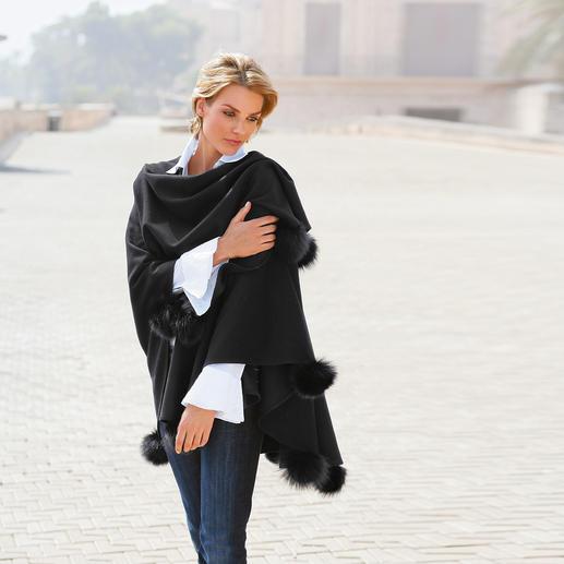 Opera-Cape - Elegant en opvallend. Perfect bij een gala-outfit – topmodieus bij een casual jeans.