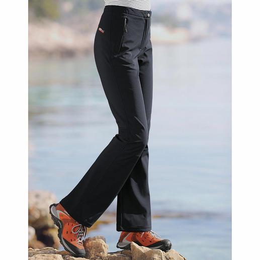 Softshell broek Dankzij softshell slank, licht en toch behaaglijk warm. En u ziet er ook nog eens heel goed uit. Van CMP.