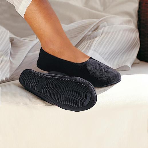 Reispantoffels Pantoffels om mee op reis te nemen. Net zo comfortabel als op blote voeten lopen.