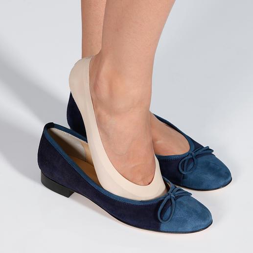 Antislip-sokjes Glijdt niet. Knelt niet. Licht en nauwelijks voelbaar. De nieuwe generatie korte sokjes – van Oroblu.