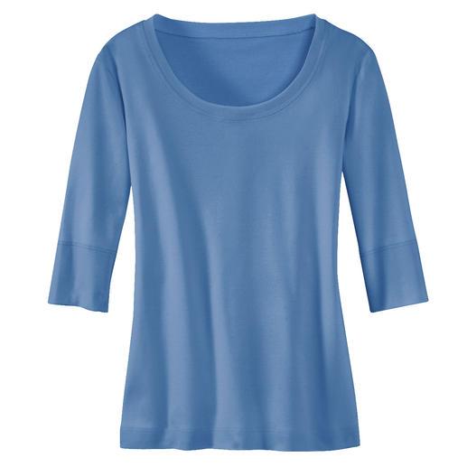 Wolff-shirt Van het allerfijnste, gemerceriseerde katoen.