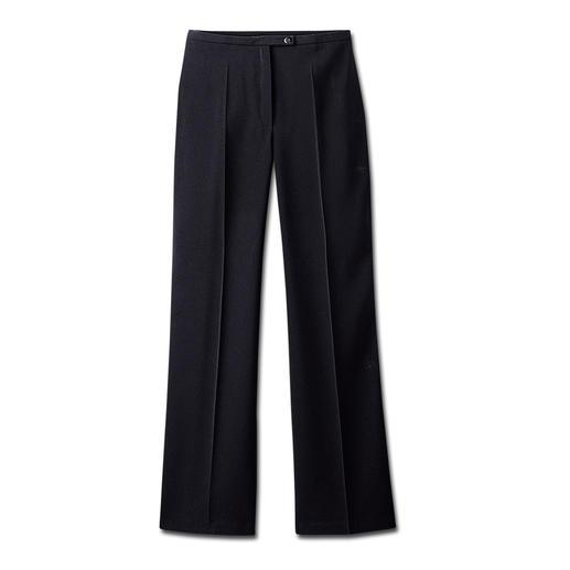 Broek in kreukvrije kwaliteit De ideale broek. Kreukvrij. Strijken is niet nodig. Geschikt voor naar kantoor en om mee uit te gaan.