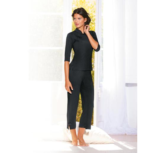 Dreamsacks®-pyjama Fijn bamboegaren maakt deze pyjama zo onvergelijkbaar zacht en aangenaam luchtig.