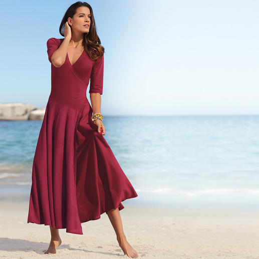 Ibiza-jurk Comfortabel en vrouwelijk. Romantisch en sexy. Origineel model uit Spanje.