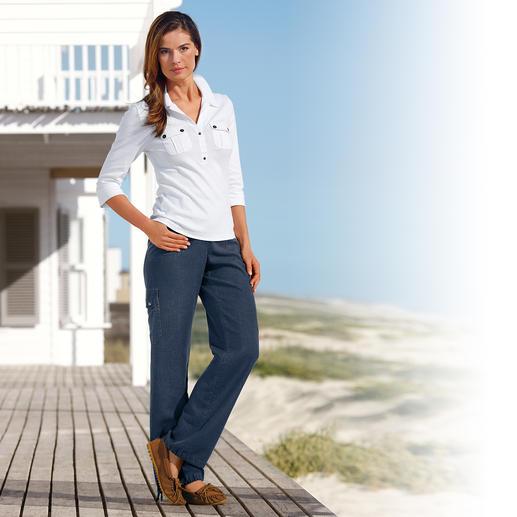 Comfortabele Tencel®-linnen broek Uw favoriete vrijetijdsbroek voor de zomer. Luchtig licht, chic en uiterst comfortabel.