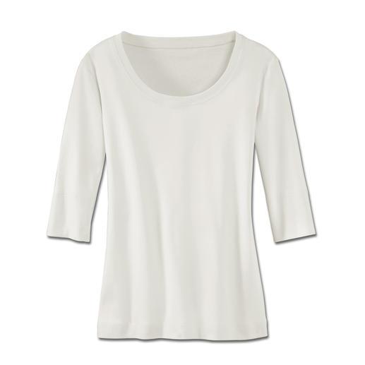 Waarom vraagt de hele wereld naar het shirt uit Oostenrijk? Van het allerfijnste, gemerceriseerde katoen.