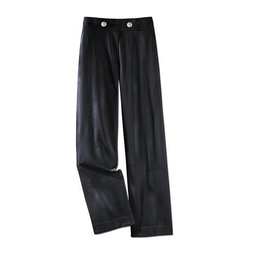 Zomerse onderhoudsarme broek De perfecte onderhoudsarme broek voor de zomer. Gemakkelijk te combineren, kreukarm, licht en luchtig.