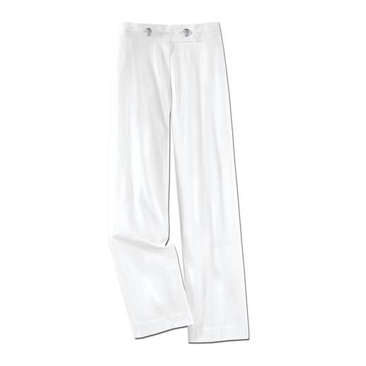 De perfecte onderhoudsarme broek voor de zomer. De perfecte onderhoudsarme broek voor de zomer. Gemakkelijk te combineren, kreukarm, licht en luchtig.